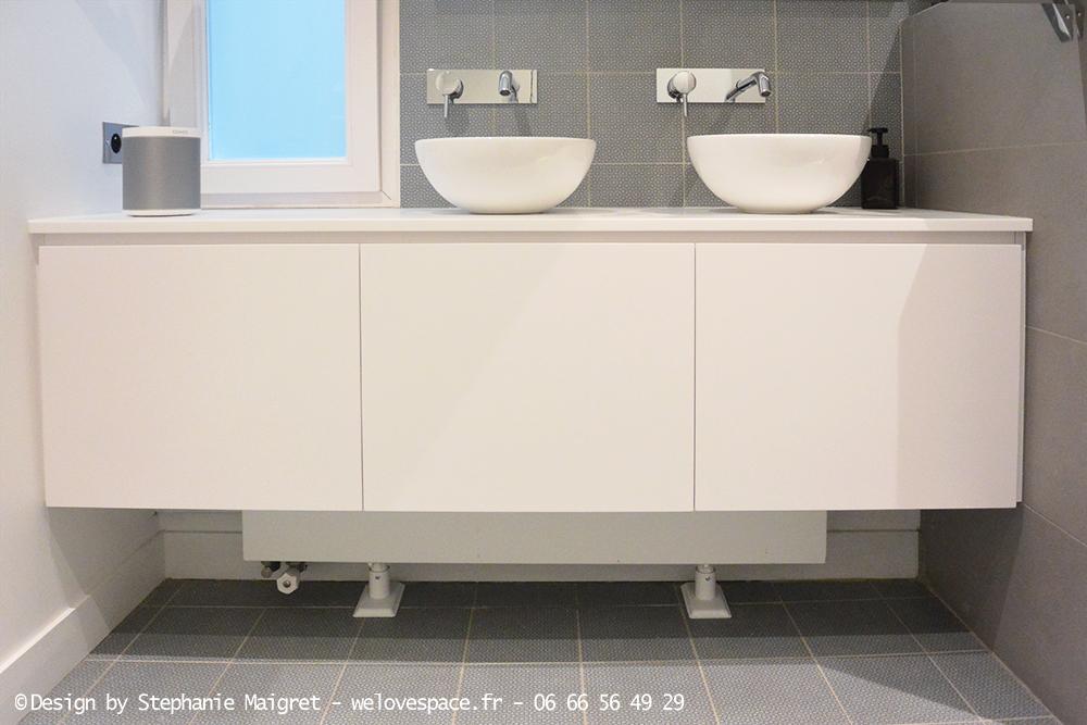 Décoration d'une salle de bain sans fenêtre